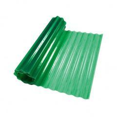 Пластиковый шифер волнистый 2x10м зеленый
