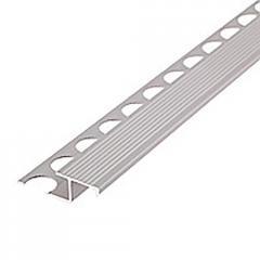 Профиль лестничный 2110 AU серебряный 2500мм