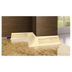 Профиль мебельный BL33 алюминий 3000х21х21мм