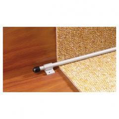 Прут для укрепления ковровой дорожки PS-2 серебряный 1200х10мм