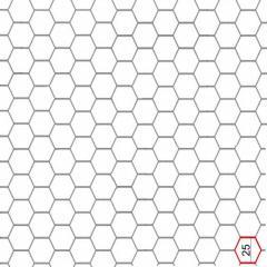 Сетка крученная шестигранная 25x0.5мм