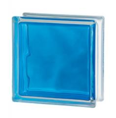 Стеклоблок голубой Brilly Blue