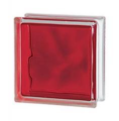 Стеклоблок красный Brilly Red