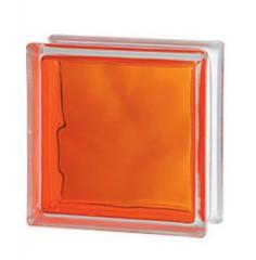 Стеклоблок оранжевый Brilly Orange