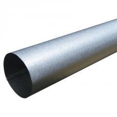 Труба водосточная Al-Zn серебристый 90x1000мм