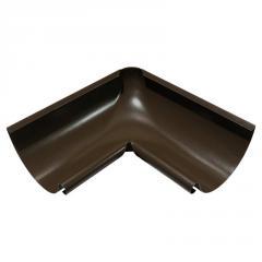 Угол желоба внутренний коричневый 125мм