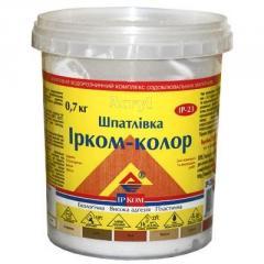 Шпатлевка Ирком-Колор Дуб 0.7кг