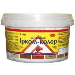 Шпатлевка Ирком-Колор ИР-23 Орех 0.35кг