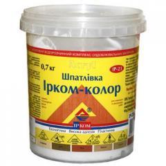 Шпатлевка Ирком-Колор ИР-23 Орех 0.7кг