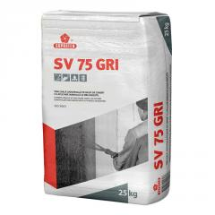 Штукатурка цементная SV 75 серая 25кг