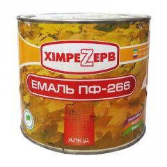 Эмаль ПФ-266 Красно-коричневая 2.4кг