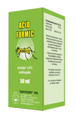 Acid formic  soluție 1,4% 50 ml antiseptic