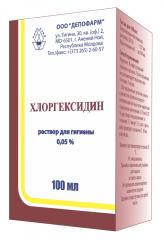 Clorhexidină soluție 0,05%