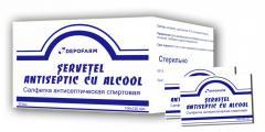 Alcohol wipes ANTISEPTICS 100х120 mm 50 pcs