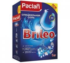 Специальная соль Brileo для посудомоечных машин Paclan Brileo Classic Бельгия