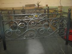 Forged ritual fences