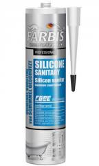 Профессиональный санитарный силикон FARBIS