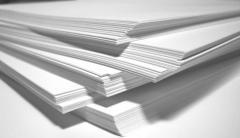 White, kraftovy paper