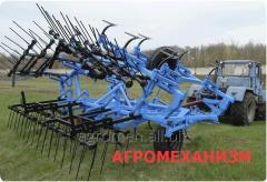 Культиватор паровой прицепной кпп-8м