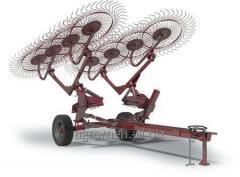 Грабли колесно-пальцевые kolibri v