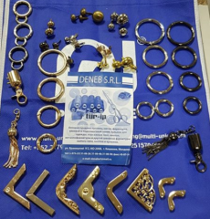Accessories metal for the notions industry