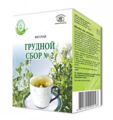 COLLECTION OF THORACIC №2 herbal tea 50 g