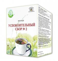 SEDATIVE HERBS №2 herbal tea 50 g