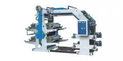 Secţiune de printare flexografică