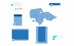Хирургический набор Laparoscopic Pelviscopy Pack
