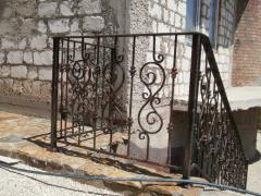 Перила металлические кованные в Молдове