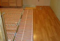 Electric heat-insulated floors