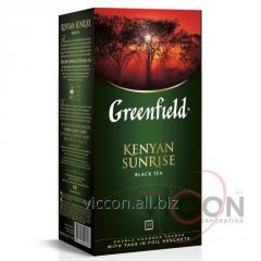 Greenfield Kenyan Sunrise, чай черный, 25 пак.