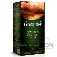 Greenfield Golden Ceylon, чай черный, 25 пак.