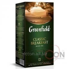 Greenfield Classic Breakfast, чай черный, 25 пак.