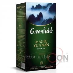 Greenfield Magic Yunnan, чай черный, 25 пак.