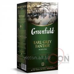 Greenfield Earl Grey Fantasy, чай черный, 25 пак.