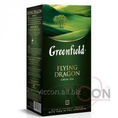 Greenfield Flying Dragon, зеленый чай, 25 пак.
