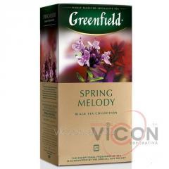 Greenfield Spring Melody, черный чай, 25 пак.