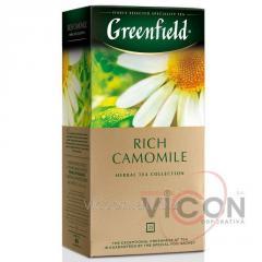 Greenfield Rich Camomile, травяной чай, 25 пак.