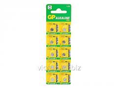 Батарейки алкалиновые Alcaline GP 164 C-U10,