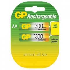 Аккумулятор GP, 130 AA HC-U2, R6, AA, 1300 mAh, NiMh