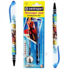 Роллер Teenager Pen Centropen 0,7 mm, синий
