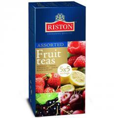 Чай RISTON «ASSORTED FRUIT BLACK TEAS» 25