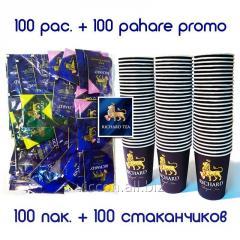 Чай черный RICHARD АССОРТИ, 100 пак. + 100