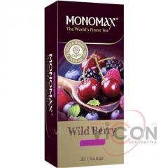 Чай MONOMAX «WILD BERRY» 25 пакетиков