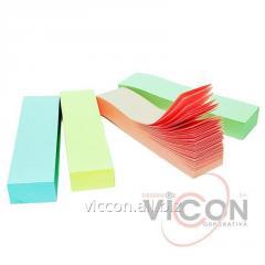 Стикеры-закладка 4 цвета х 100 бумажных литстков,