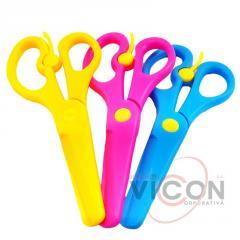 Детские ножницы пластиковые, 13 см S804