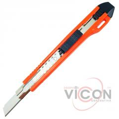 Нож канцелярский, 9 мм, KNIFE