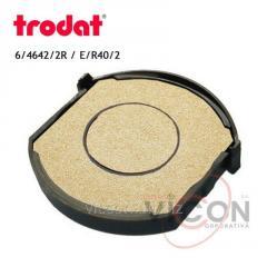 Сменная подушка 6/4642/2R Trodat неокрашенная для двух цветов (E/R40/2)