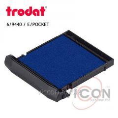 Сменная подушка 6/9440 Trodat синяя ( E/POCKET )